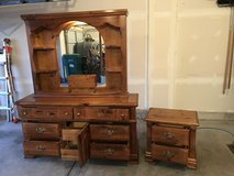 Dresser & nightstand in Morris, Illinois