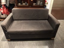 Small grey Ikea couch in Stuttgart, GE