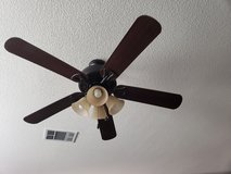 "52"" Harbor Breeze Ceiling Fan w/Light fixture in Fairfield, California"