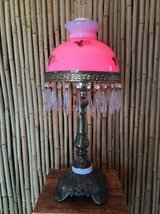 Gorgeous RARE Victorian Era Parlor Style Lamp in Yucca Valley, California