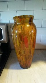 Beautiful Brown Striped Vase Perfect for any room in Wilmington, North Carolina