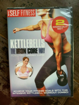 NEW Kettlebells the Iron Core Way DVD 2 Volume Workout Set in Joliet, Illinois
