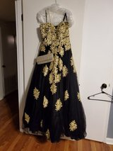 Gown with purse in Fort Rucker, Alabama