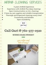 Airbnb Housekeeper Cleaner Cleaning in 29 Palms, California