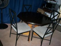 (3) DINING/KITCHEN TABLE SETS & FOLDING TABLE in Fort Eustis, Virginia