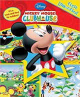 Disney Mickey Mouse Club House First Look and Find for Toddlers Over Sized Board Book in Chicago, Illinois