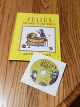NEW Vintage 1990 Julius The Baby of The World Hard Cover Book & CD Combo Scholastic Listening Ce... in Yorkville, Illinois