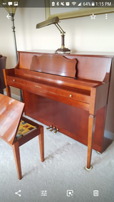 Yamaha Upright Piano and bench in Yorkville, Illinois