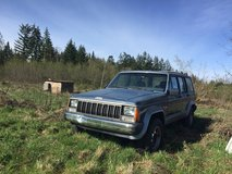 1988 Jeep Cherokee w/excellent interior in Fort Lewis, Washington