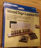 Wood Sign Layout Kit in Houston, Texas