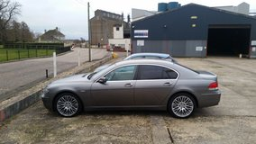 BMW 730 in Lakenheath, UK