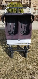 Mountain buggy urban double jogging stroller in Bolingbrook, Illinois
