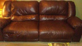 Leather recliner Couch in Naperville, Illinois