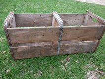 Vintage Double Wood Crate in Chicago, Illinois