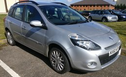 2010 RENAULT CLIO 1.5 DYNAMIQUE DCI 5D 86 BHP  ECO2  ** £30 A YEAR ROAD TAX ** in Lakenheath, UK