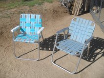 **  2 x Folding Aluminum Chairs  ** in 29 Palms, California