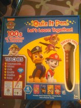 Quiz it pen set (paw patrol) in Camp Lejeune, North Carolina