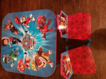 Paw Patrol Table and Chairs in Fort Knox, Kentucky