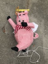 Christmas Pig in Beaufort, South Carolina