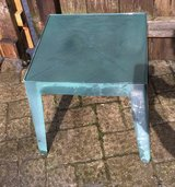 Green Patio Plastic Side Table in Chicago, Illinois