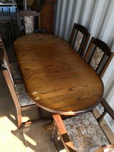 Extending Dining Table and 6 Chairs in Lakenheath, UK