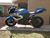 2007 CBR 600rr in 29 Palms, California
