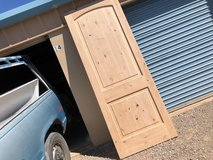Solid wood paneled doors, price reduction. in Alamogordo, New Mexico