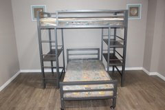 Metal Bunk bed- Mattresses Included in Kingwood, Texas