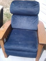 Recliner with Wood Arms in 29 Palms, California
