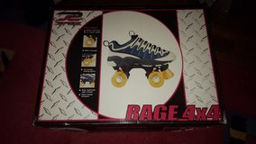 rage 4x4 rollerskates new in Aurora, Illinois