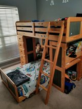 Beautiful BUNK BED With a desk in Warner Robins, Georgia