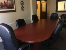 Conference room table and chairs in Plainfield, Illinois