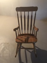 Wood Rocking Chair in Plainfield, Illinois