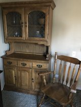 Table, chairs, and hutch set in Plainfield, Illinois