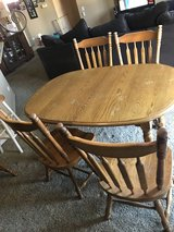 Table and chairs set in St. Charles, Illinois