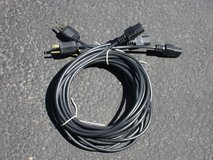 3 NEW IEC-AC GUITAR  AMP  POWER CORDS in Aurora, Illinois
