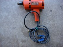 "BLACK & DECKER 3/8 "" ELECTRIC DRILL in St. Charles, Illinois"