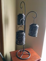 Bronze tealight holder with shades in Chicago, Illinois
