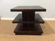 Dark Brown Square Coffee Table in Plainfield, Illinois