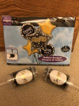 Graduation Mylar Balloons & 2 Confetti Poppers in Fairfield, California