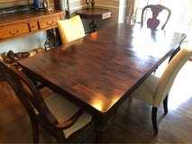 ** BEAUTIFUL WORLD MARKET TABLE W/4 Free Chairs in Plainfield, Illinois