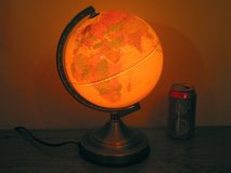 Lighted Geographic World Globe M in Plainfield, Illinois
