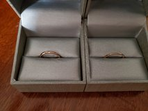 zales polished ring's sterling silver and 18k set in Hopkinsville, Kentucky