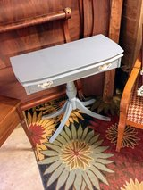antique entryway table with secret compartment in Camp Lejeune, North Carolina
