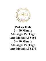 Therapeutic Massage Package Specials in Camp Pendleton, California