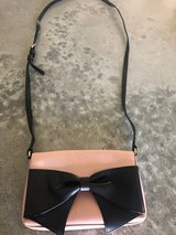 Kate Spade Pink Bag with Black Bow in Orland Park, Illinois