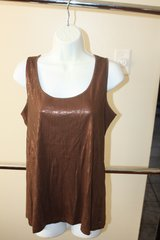 New with Tags Medium Womans Brown Tank in Houston, Texas