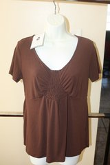 New with Tags Brown Small Womans Slinky Top in Kingwood, Texas
