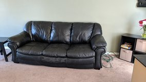 Black Sofa in Chicago, Illinois