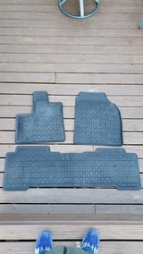 REDUCED  ACURA MDX  Back All Weather Floor Mats in Glendale Heights, Illinois